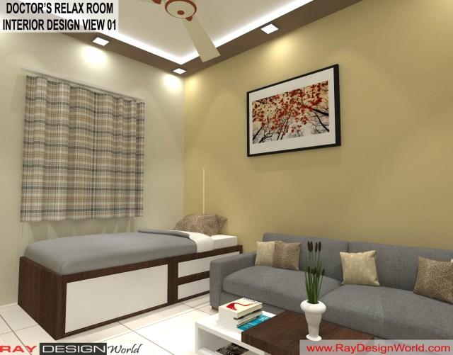 Doctor's Relax Room   Interior Design - Shimoga Karnataka - Dr. Rajeev Pandurangi