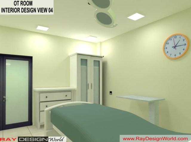 Hospital OT  Interior Design - Shimoga Karnataka - Dr. Rajeev Pandurangi