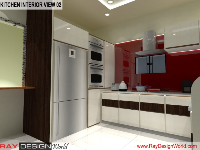 Kitchen  Interior Design view 02 - Vadodara Gujarat - Mr.Chirayu Soni