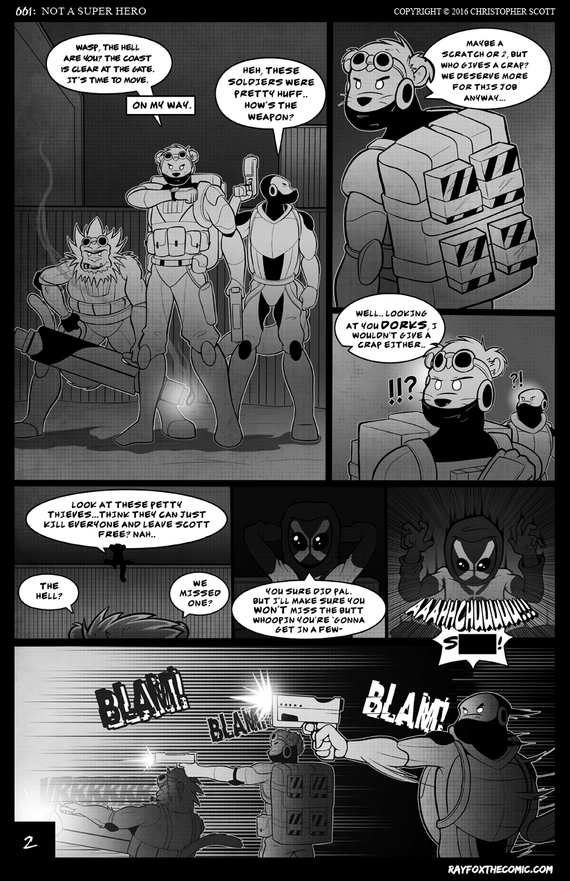 NOT a Super Hero: Page 2