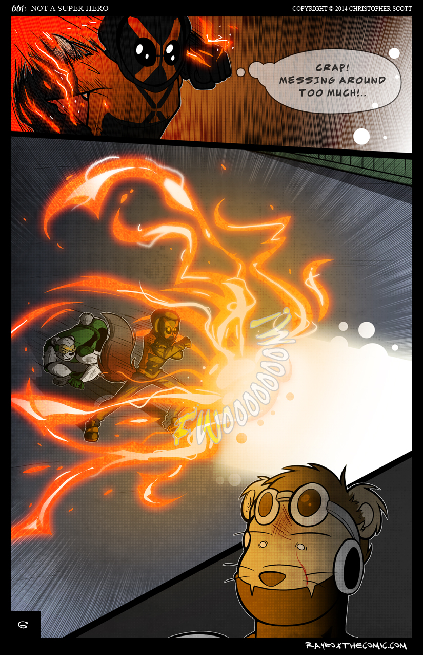 NOT a Super Hero: Page 6