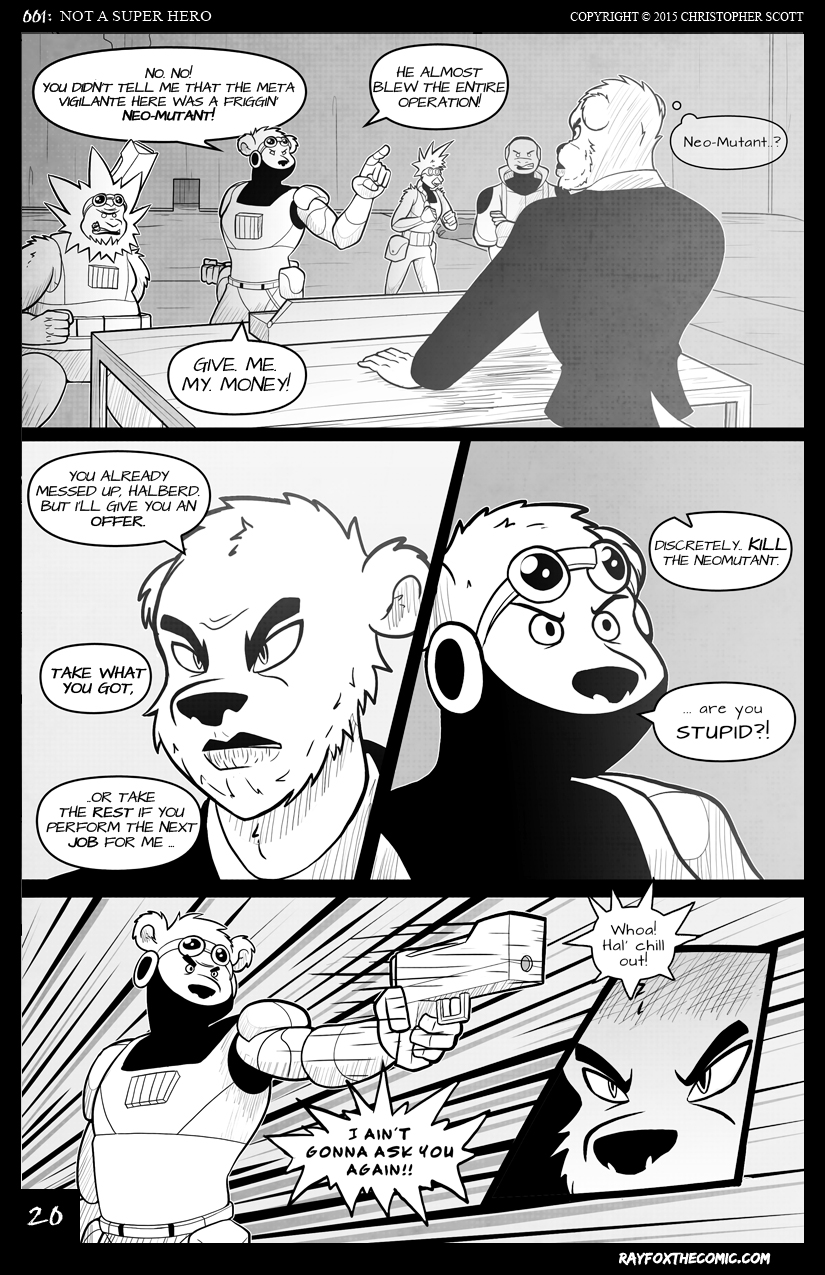 NOT a Super Hero: Page 20
