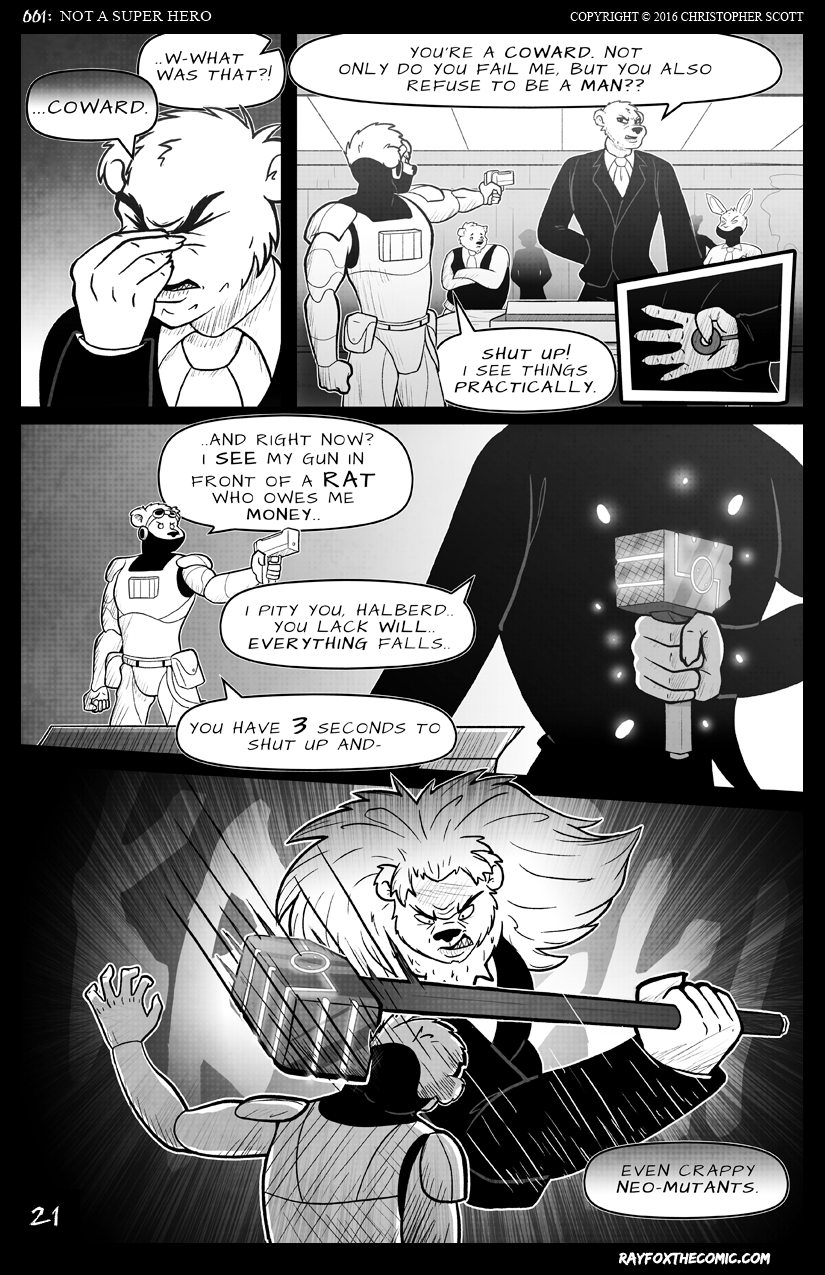 NOT a Super Hero: Page 21