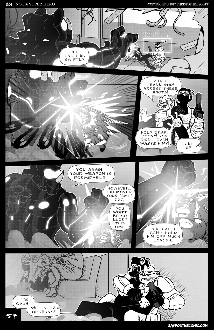 NOT a Super Hero: Page 57