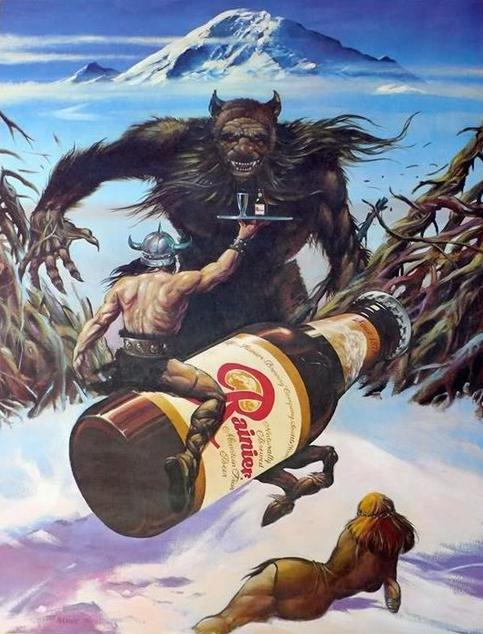 our beer will be delivered using the finest enlarge, animate and polymorph spells to ensure that it can get past the giant werewolves of Burien