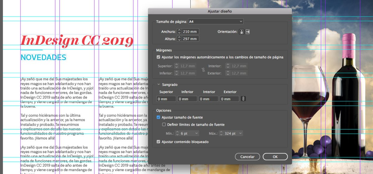 INDESIGN CC 2019  ¡NOVEDADES! | Rayitas Azules | Diseño