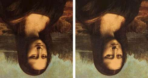 Mona Lisa Upside-down/Illusion