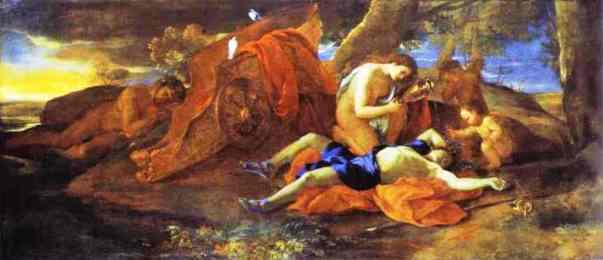 Nicolas Poussin, Venus Weeping Over Adonis