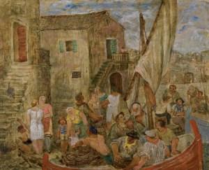 J. Plancic, Return from Fishing