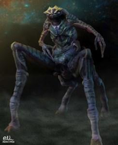 Dario Frog Alien