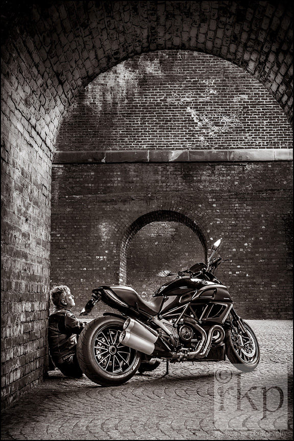 man with motorbike 2