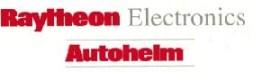 Autohelm en Raytheon logo