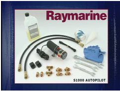 Raymarine installatie ST1000 stuurautomaat hydrauliek systeem