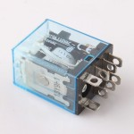 Omron-8pin-2NO-2NC-LY2NJ-LY2N-J-led-lamp-10A-DC12V-DPDT-Coil-Power-Relay