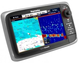 Raymarine e125 multifunctioneel display voor plotter, fishfinder en radar T70053