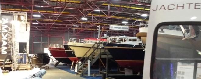 Raymarine op Boot Holland 2014 stand schepen