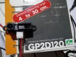 Stuurautomaat met Arduino GP2D120