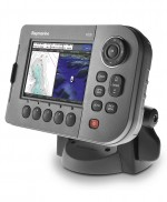 raymarine A50D kaartplotter met fishfinder sonar