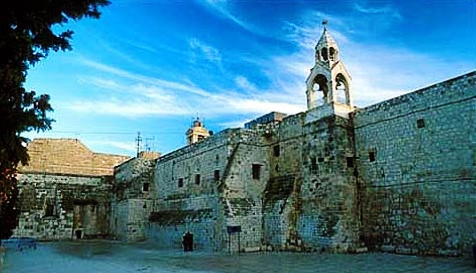 Church of Nativity in Bethlehem.