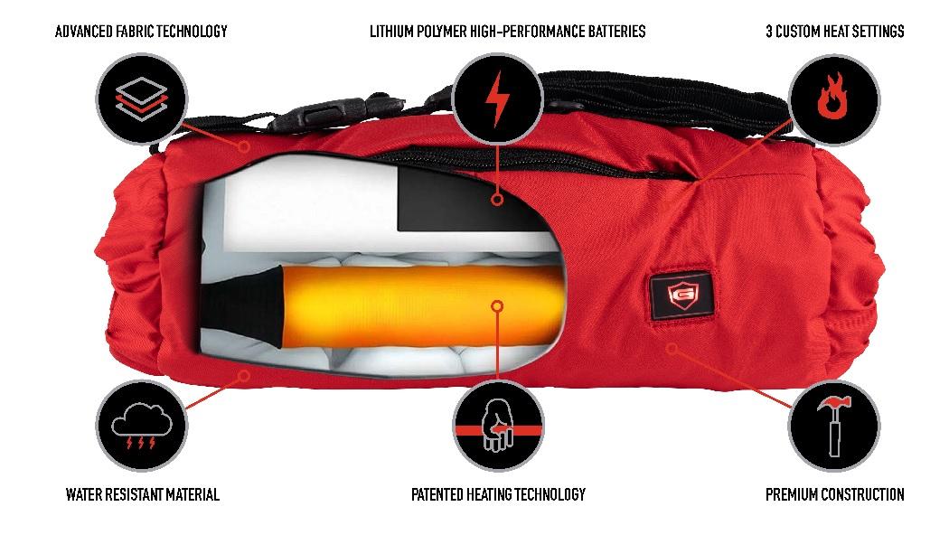 G-Tech Heated Pouch