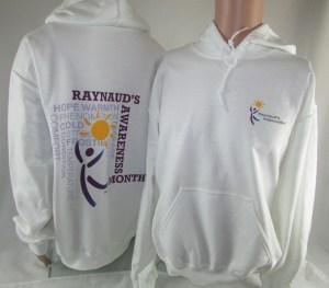 New Raynaud's Awareness Hoodies