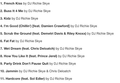 Album Track List