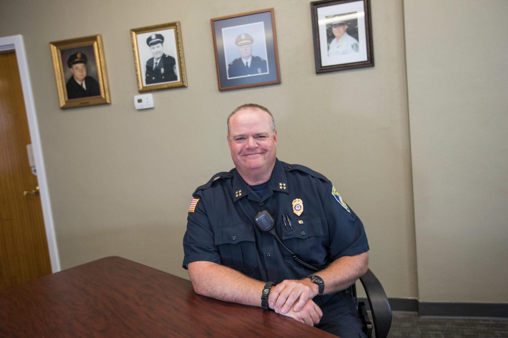 Raynham Police Chief James W. Donovan