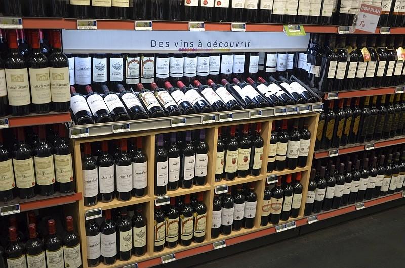 nouveau concept vins de carrefour