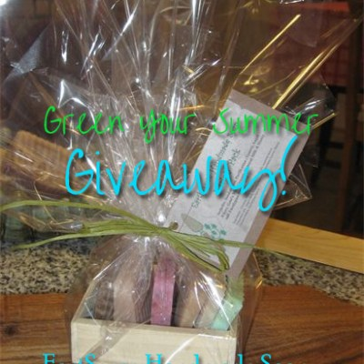 EarthSense Soap Gift Basket Giveaway!