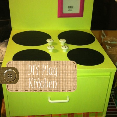 DIY Play Kitchen Oven