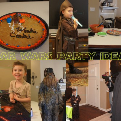 Star Wars Kids Party Ideas ~ Printable Star Wars Party Labels