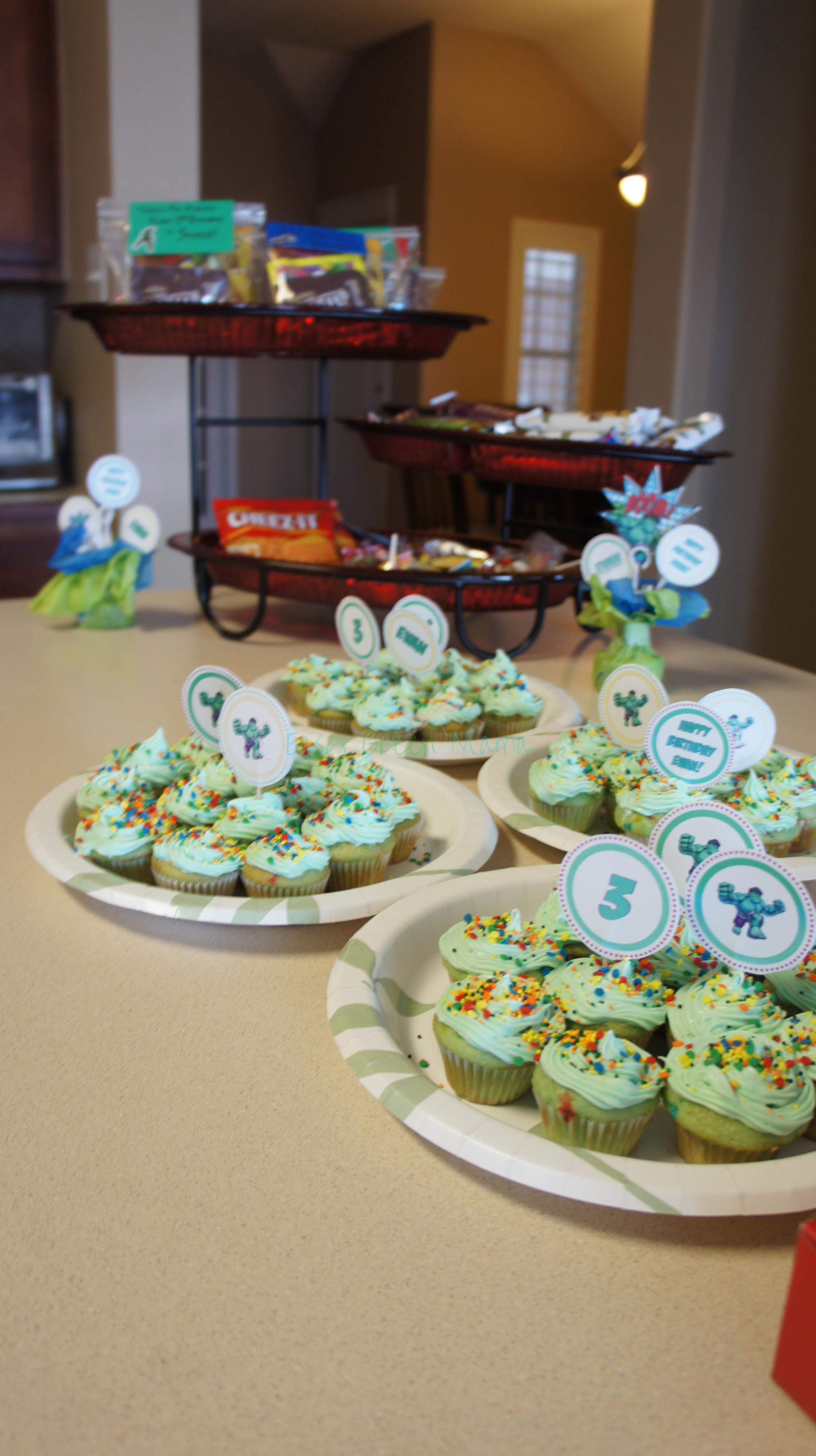The Hulk Cake Decorations