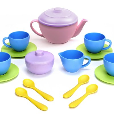 Made in the USA Giveaway Hop~Green Toy Tea Set
