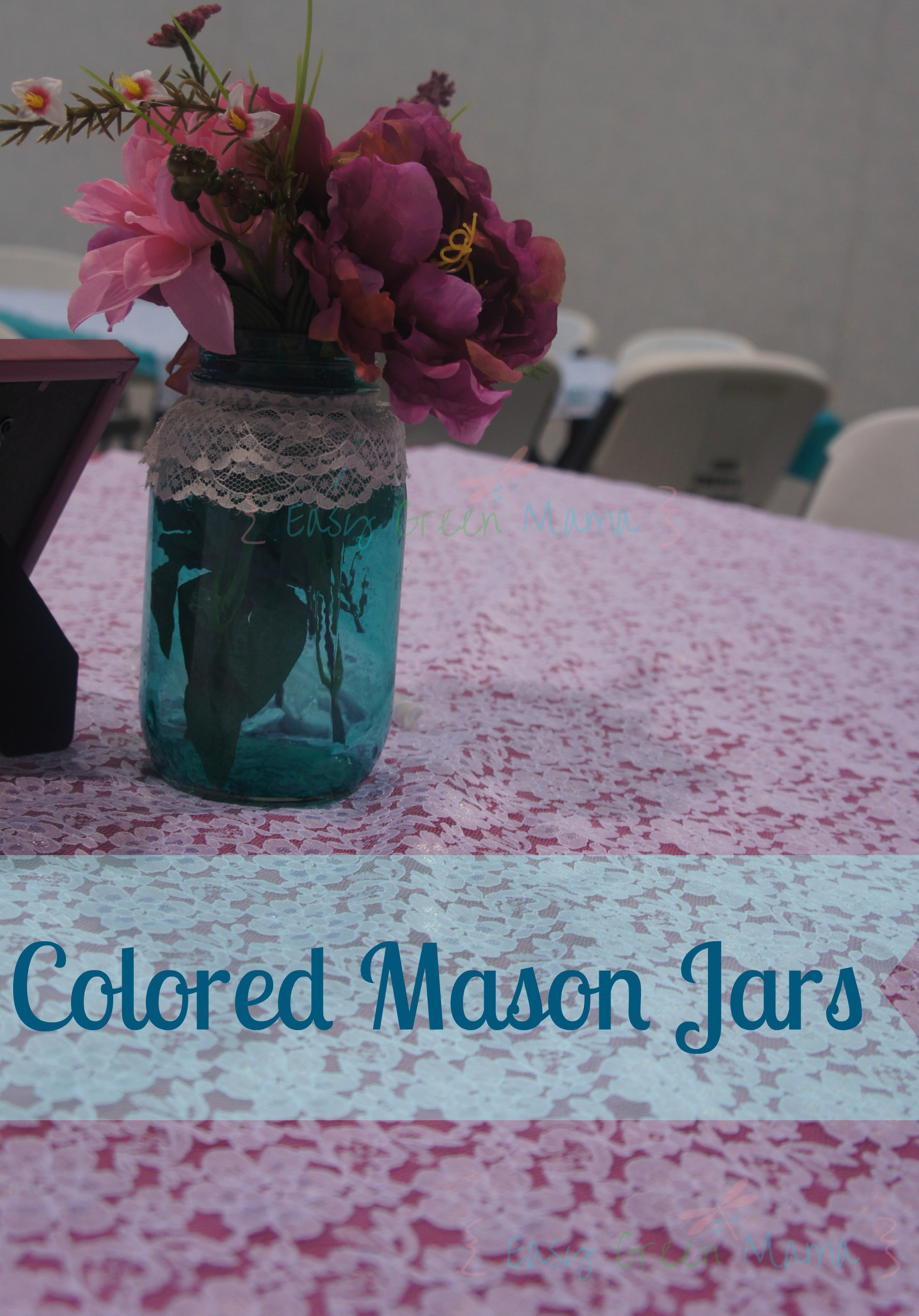 Diy Colored Mason Jars Country Wedding Centerpiece Ideas Rays Of