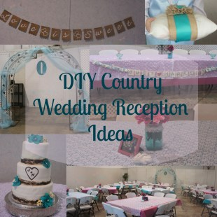 DIY Country Wedding Decorations