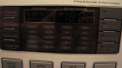 LG Front Load Wash/Dryer
