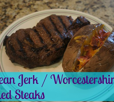 Caribbean Jerk & Worcestershire Sauce Seasoned Steaks