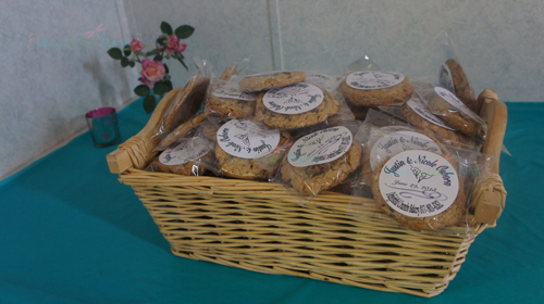 Wedding Gifts For Country Couple : The entrance table was decorated simple with gift card box, framed ...