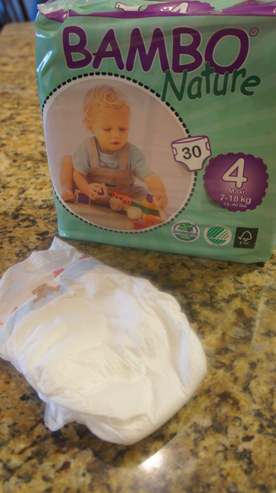 Bambo Nature Maxi Premium Baby Diapers ~ Review & Giveaway!