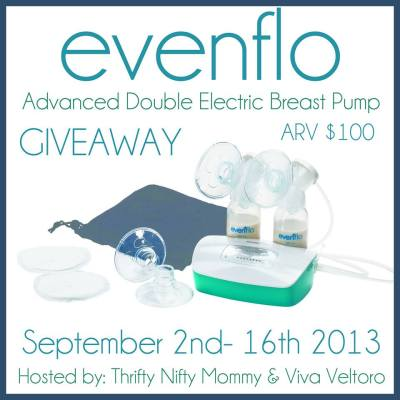 Evenflo Advanced Double Electric Breast Pump Giveaway