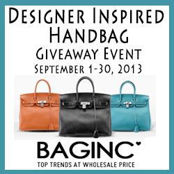 Designer Inspired Handbag Giveaway