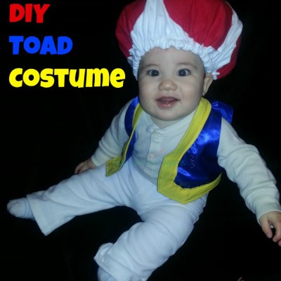 DIY Toad Costume / Hat ~  Baby or Kid