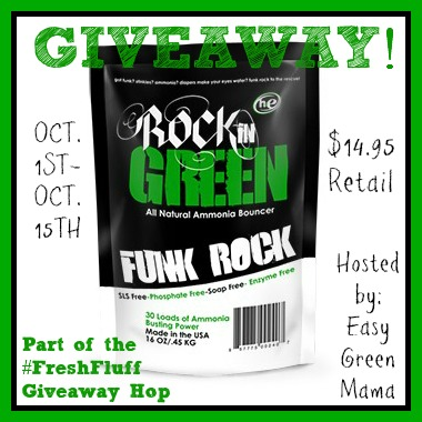 Rockin' Green Funk Rock Giveaway