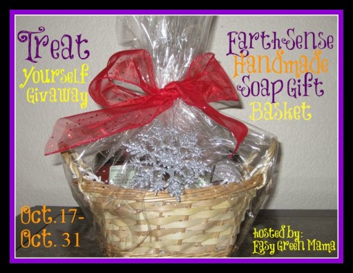 Treat Yourself Giveaway Hop ~ EarthSense Handmade Soap Gift Basket