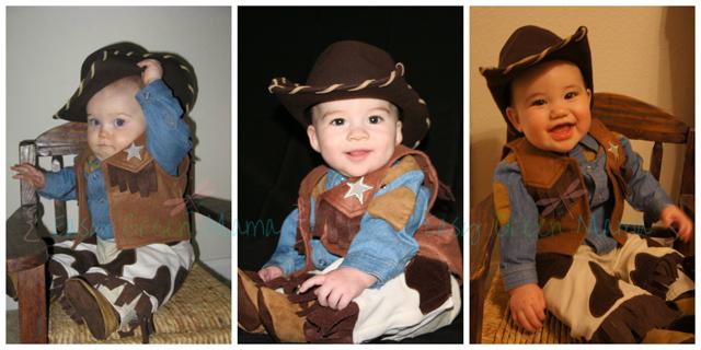 3 Lil Cowboys!