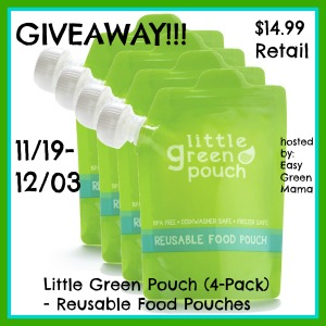 Little Green Pouch Giveaway
