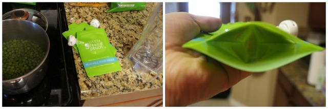 Little Green Pouch for homemade baby food