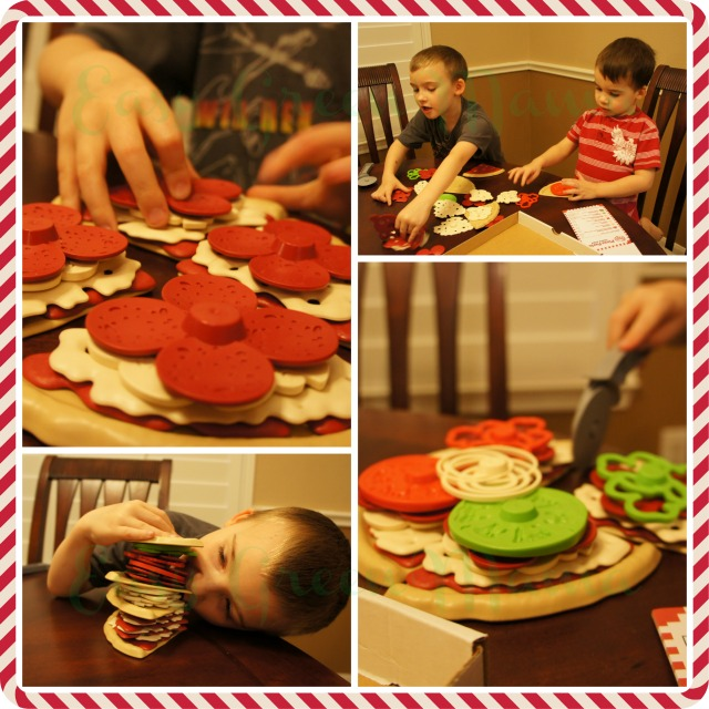Green Toy Pizza Parlor review and Giveaway
