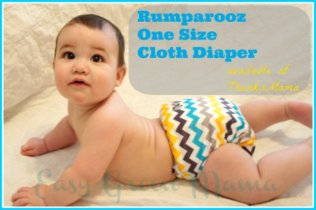 Rumparooz One Size Cloth Diaper from Thanks Mama
