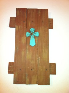 Wall Decor made from Pallet